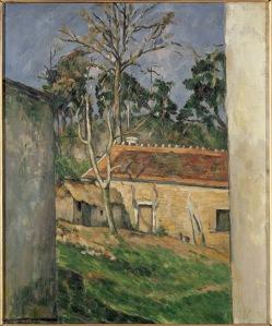 Cezanne, Cortile di fattoria