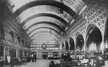 La gare d'Orsay - Paris - Ile de France , carte postale ancienne
