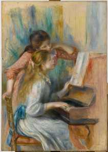 Giovani al Piano - Renoir