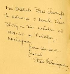 Scritti di Hemingway