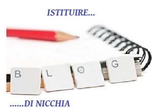 istituire blog nicchia