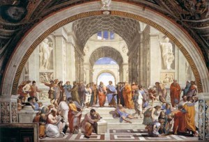 raffaello stanze vaticane scuola atene